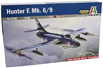 Italeri - I2708 - Maquette - Aviation - Hawker Hunter Fga6/fga9