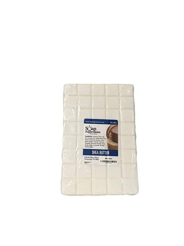Soap Expressions by Candlewic. Shea Butter Glycerine Soap Base- 2lb (Tamaño: 2 Lb)