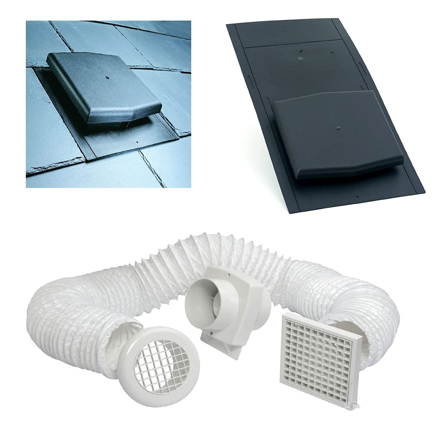 Roof Tile Extractor Vent Slate Roof Tile Vent Inline