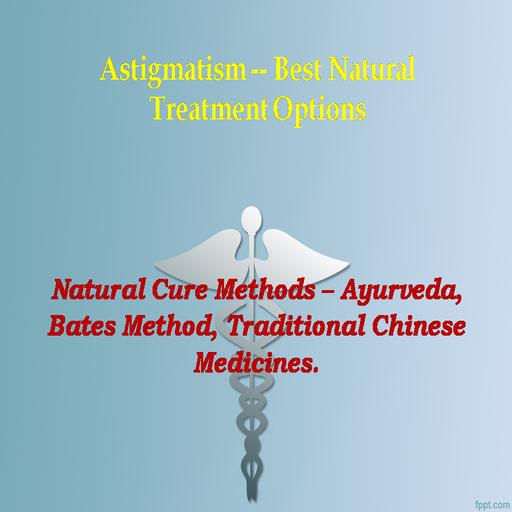 Astigmatism Natural Cure