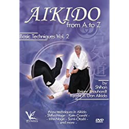 Aikido from A to Z Basic Techniques Volume 2: Throws