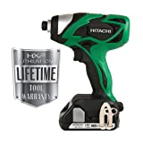Hitachi WH18DSAL 18-Volt Lithium-Ion Impact Driver  (Discontinued by Manufacturer) (Color: Green)