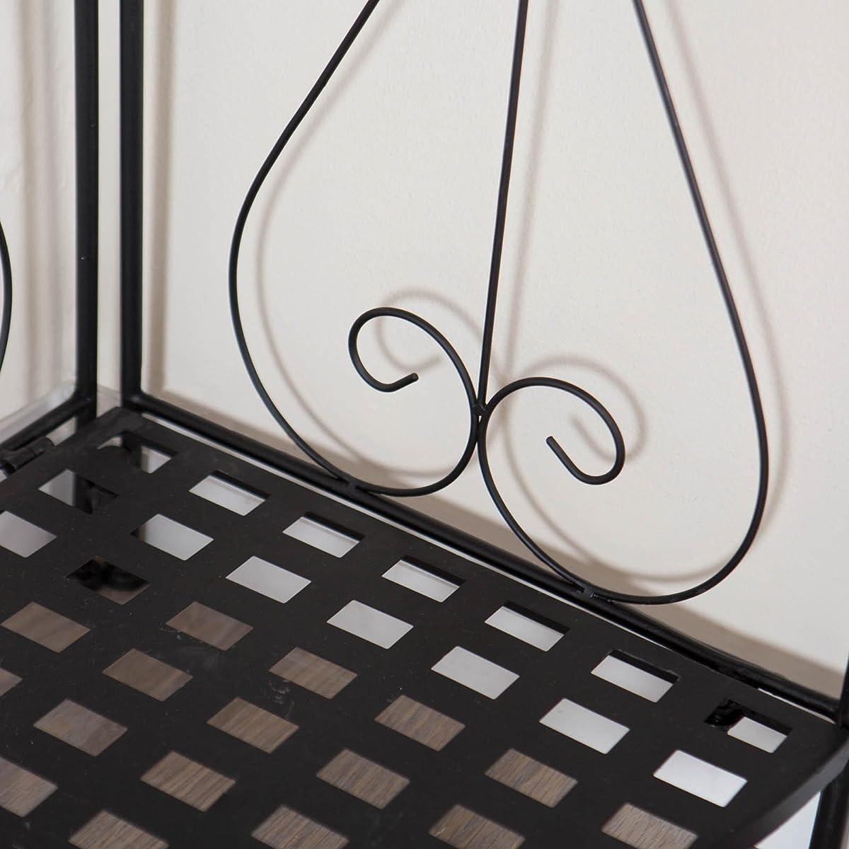 Brixton Corner Indoor/Outdoor Folding Bakers Rack