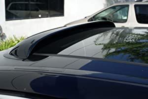 TuningPros LSV-229 compatible with 2002-2006 Honda CR-V Sunroof Moonroof Top Wind Deflector Visor Thickness 1.4mm 980mm 38.5 Light Tinted Set of 1