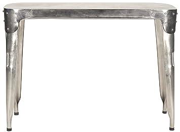 Safavieh Eisenkonsole, Metall, antikes silber, 109 x 38 x 78.74 cm