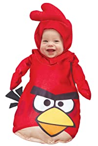 Baby Red Angry Bird Costume