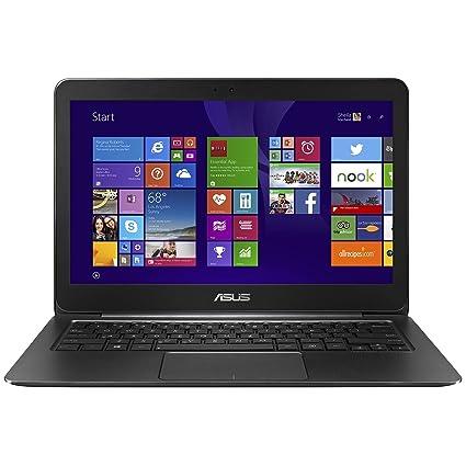 """PC Portable - ASUS Zenbook UX305FA-FC060T Noir - Intel Core M-5Y10 4 Go SSD 128 Go 13.3"""" LED Full HD Wi-Fi AC/Bluetooth Webcam Windows 10 Famille 64 bits (garantie constructeur 2 ans)"""