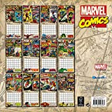 Image de Official Marvel Retro Classic 2016 Square Wall Calendar (Spiderman, Iron Man, The Hulk, Thor)