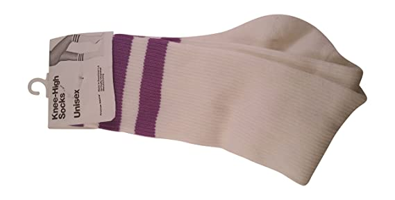 American Apparel Women's Adult Casual Socks with Striped Top Layer