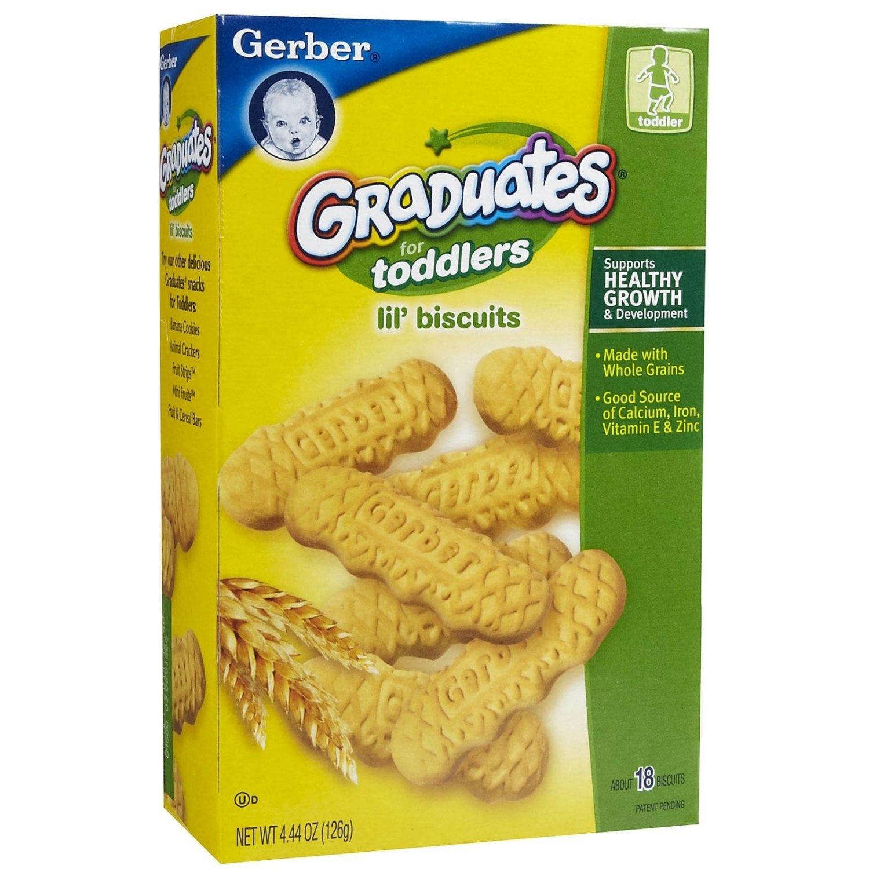 Teething crackers for babies