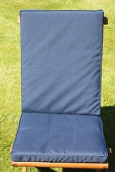Coussin pour mobilier mobilier de jardin coussin de for Chaise de jardin bleu marine