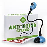 HUE Animation Studio (Blue) for Windows PCs and Apple Mac OS X: complete stop motion animation kit with camera, software and book (Color: Blue)