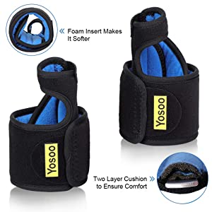 Bunion Corrector Splint Brace, Night Bunion Relief Protector Big Toe Straightener with Metal Splint Support and Adjustable Strap for Hallux Valgus, Hammer Toe, Bunion Surgery Pain Relief (Pair) (Color: Bunion Corrector for Night)