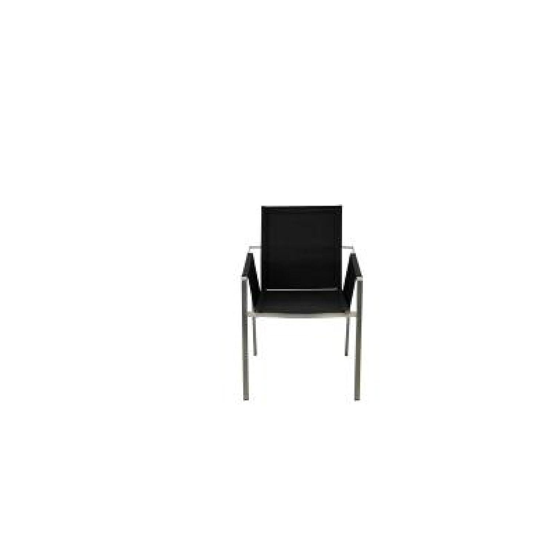 SIT Mobilia Gartenstuhl / Real Edelstahl in schwarz 30INX14-201