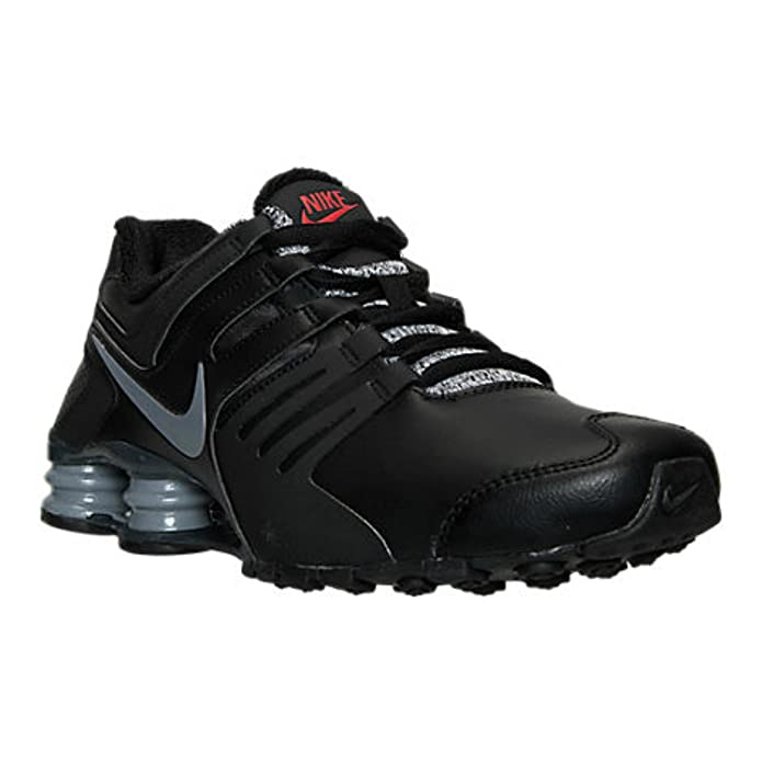 Nike Shox Current Running Shoes athletic sneakers Black/Cool Grey/Red/Anthracite