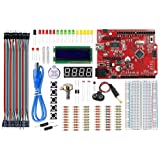 ELECROW Basic Arduino Kit with Tutorial for Beginners (Arduino Starter Kit)