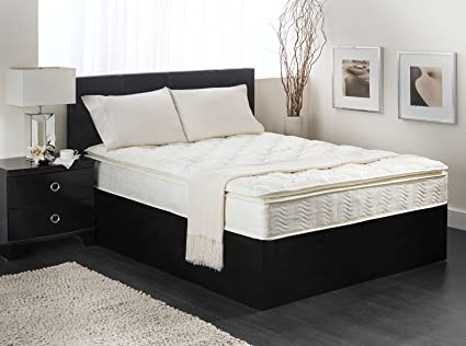 """Price Comparisons 12"""" Inch King Cool Medium-firm Memory Foam Mattress Bed With 2 Free GEL Pillows"""