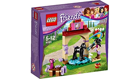 LEGO - 41123 - Friends - Jeu de construction - Le Toilettage du Poulain