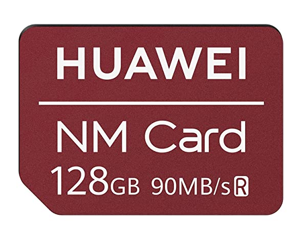 Huawei NM Card 128GB 90MB/S Nano Memory Card Mirco SD Card Compact Flash Card, only Suitable for Huawei P30 Series and Mate20 Series(128GB)