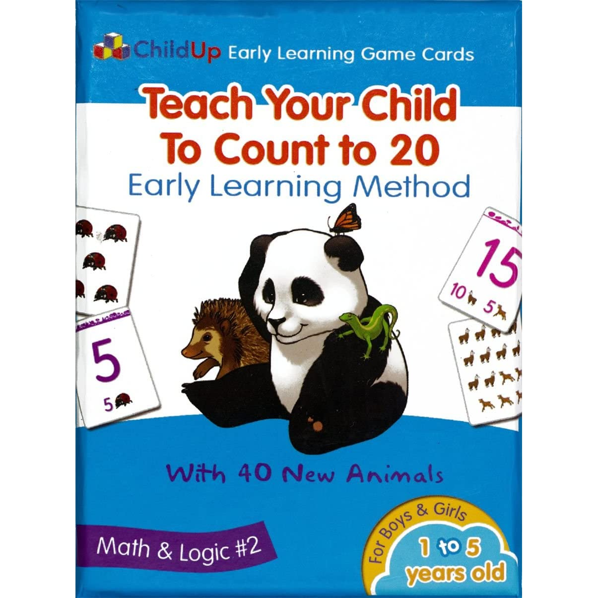 Early Learning: Dad Of Divas' Reviews: ChildUp Early Learning Game Cards