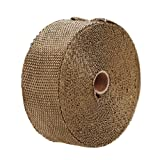 Lantusi Exhaust Wrap Thermal Header Pipe Tape Titanium Lava Wrap 2