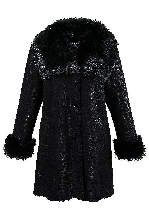 Ulla Popken Damen Mantel 696573 große Größen kaufen