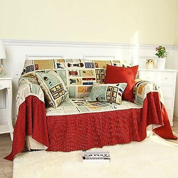 Algodón hoja sofá/ toalla antideslizante de cubierta completa-I