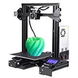 Foxnovo Creality Ender 3 3D Printer DIY Kit Prusa I3 V-Slot with Resume Printing Function, Building Volume 220x220x250mm (Color: Ender-3, Tamaño: Ender-3)