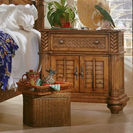 Progressive Furniture Palm Court 1 Drawer Nightstand - Island Pine