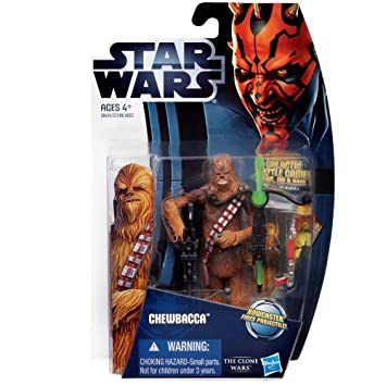 Star Wars The Clone Wars – 38415 – Chewbacca – Figurine 9,5 cm (Import Royaume Uni)