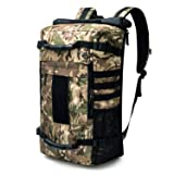 Mardingtop 40L Duffle Backpack Molle Travel Sports Gym Carry-On Bag for Men Women 6346-Camouflage (Color: 6346-Camouflage, Tamaño: One Size)