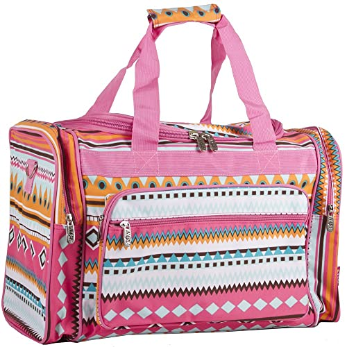 N. Gil Designer Print Duffle Carry On Bags - 19-Inch