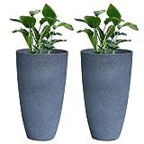 Tall Planter Set 2 Flower Pots, 20