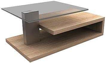 HL Design 01-01-148.1 Matthias Plateau supérieurs Bois 103 x 60 x 40 cm