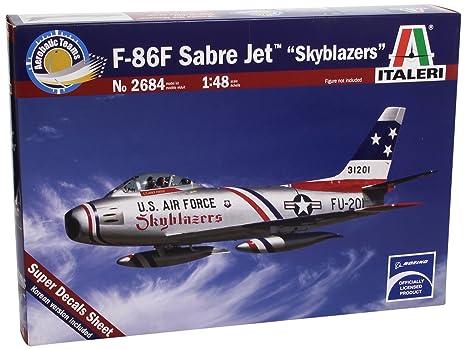 Italeri - I2684 - Maquette - Aviation - F-86F Sabre Skyblazers - Echelle 1:48