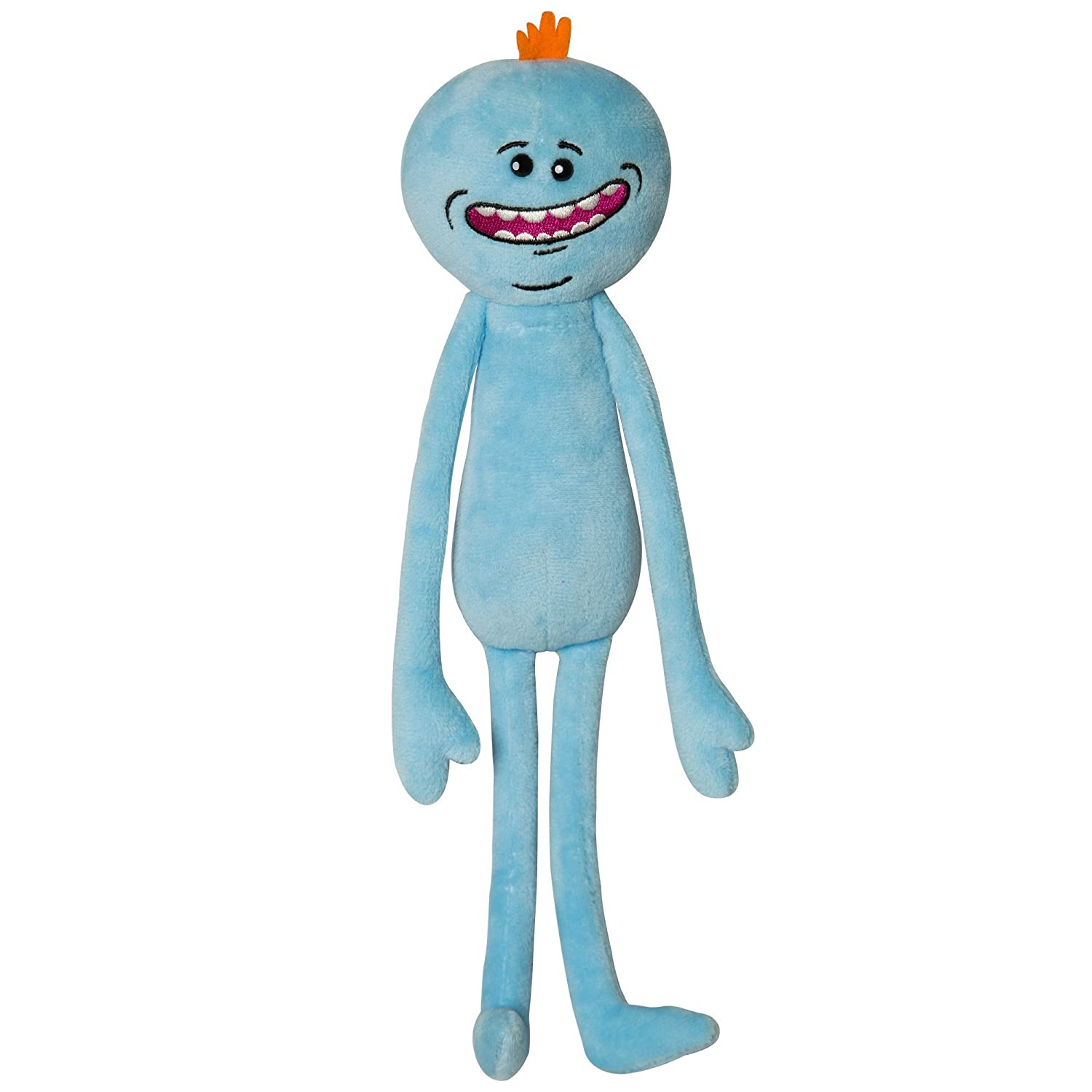 Meeseeks Happy Plush Stuffed Animal by JINX