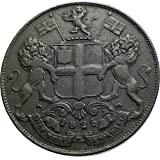 1840 unknown 1840 MADRAS/CHENNAI INDIAN COLONY of ANGOLA Ant coin Good Uncertified