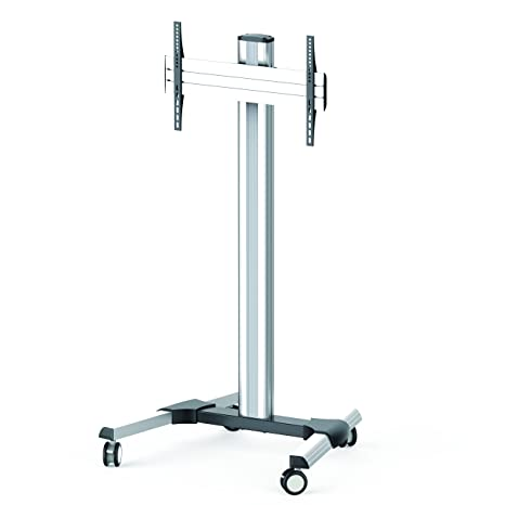 'napofix vwa1110 Mobile Vertical/Horizontal Stand Silver inches