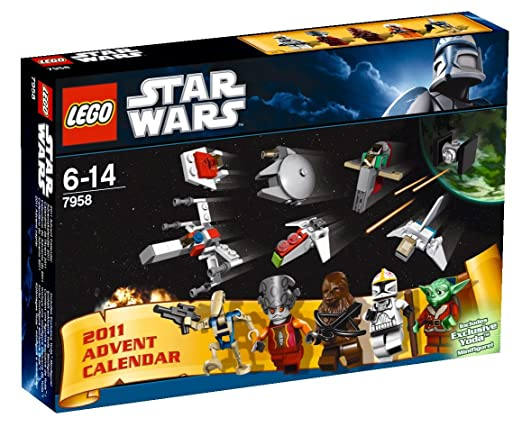 Lego Star Wars - 7958 - Jeu de Construction - Le Calendrier de l'Avent - Star Wars