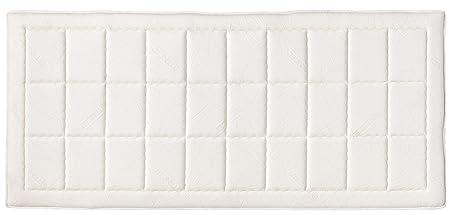 ProLife 3143000002 7-Zonen Tonnen-Taschenfederkernmatratze mit Visco-Schaum Exzellent H2, 90 x 200 cm