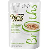 Purina Fancy Feast Broths, 1.4-Ounce, Tuna and Vegetables , 16 Pouches