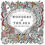 img - for Wonders of the Sea: Color Your Way to Calm book / textbook / text book