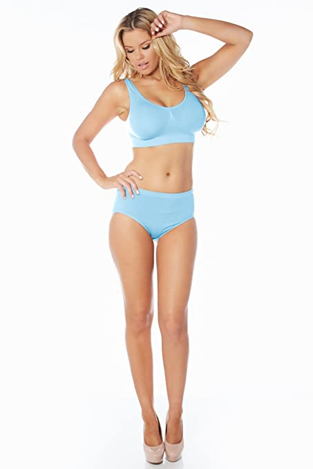 Rhonda Shear Ahh Seamless Leisure Bra Style 9588