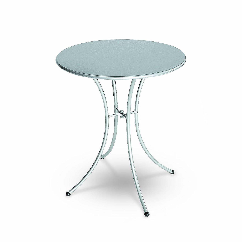 Emu 309052000 Pigalle Tisch 905, ø 60 cm, pulverbeschichteter Stahl, aluminium