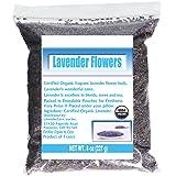 CCnatrue French Lavender Flowers USDA Organic Dried Culinary Lavender 8oz (Color: Dark Purple, Tamaño: 8oz)