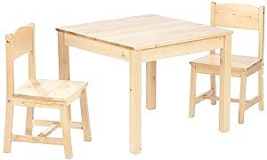 Kidkraft Aspen Table and 2 Chair Set (Natural)  Kidkraft       Customer reviews and more information