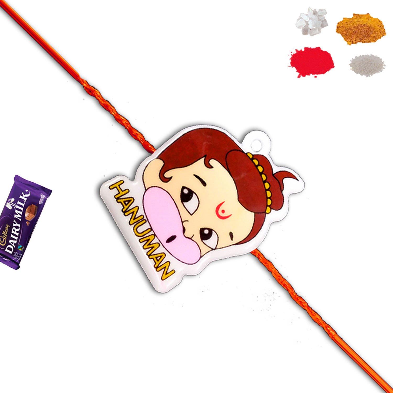 Bal Hanuman Cartoon Rakhi For Kids