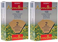 Filtropa Aroma Brown #2 Coffee Filers - 2 Pack (200 Filters)
