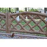 Betonex Old Wood Board MOLDS Plastic Mold Edge Stone Concrete Fence #BR10