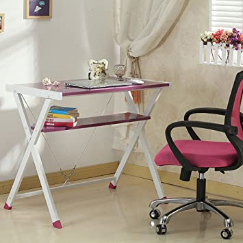 Lzz Tables Home Computer Desk Office Desk Simple Desk Fashion Computer Tables ( Color : B )